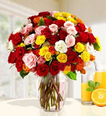 Assorted Color Roses
